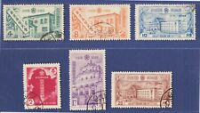 Manchuko 1937 Extraterritorial Abolition Complete Set Used.