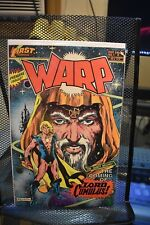 Warp #1 First Comics 1982 1st Print The Coming of Lord Cumulus
