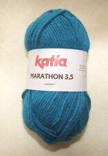 Pelote Laine katia Marathon 3.5 - Bleu vert