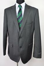 HUGO BOSS 100's Blazer UK 44L Wool Textured EUR 54L Long 106 Sakko Jacke Gr Top