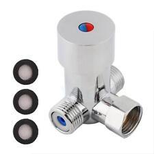 Hot Cold Water Thermostatic Temperature Control Mixer Mixing Valve Sensor Faucet
