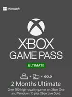 Xbox Game Pass Ultimate - Game Pass + Live Gold - 2 Month - Instant Dispatch