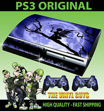 PLAYSTATION PS3 ORIGINAL STICKER MOONLIGHT GOTHIC FAIRY SKIN & 2 PAD SKINS