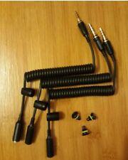 3x iPhone 6 6s 6+ LifeProof Case Headphone Cable Adapter & Jack Screw Plug BLACK