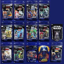 HUGE LOT 14 Star Wars Figures TRILOGY COLLECTION Vintage SAGA Clamshell OTC VOTC