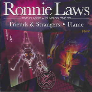 Ronnie Laws – Friends & Strangers / Flame.  new cd