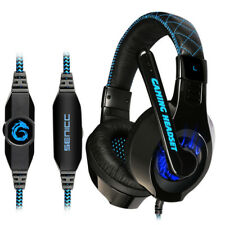 Somic G95 USB Gaming headphone Blue Light Led 3.5MM Gaming Headset Headphone