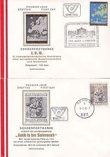 Österreich 1978: FDC  IPU Konferenz Wien, Landesausstell Gotik in der Steiermark