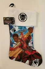 Marvel Black Panther Holiday Christmas Stocking, NEW