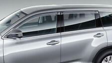 Toyota Kluger (Dec 2013 - Current) Slimline Weathershield Set