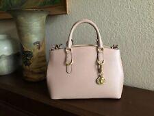 Lauren Ralph Lauren Bennington Mini Zip Saffiano Leather Satchel $238