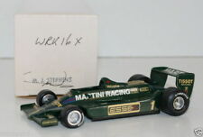 WESTERN MODELS SIGNED 1st VERSION - 1/43 SCALE - WRK16X MARTINI LOTUS 79 MKIV #1