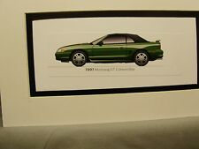 1997  Ford Mustang GT Convertible  From  50 Year Anniversary Exhibit by artist