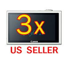 3x Canon PowerShot ELPH 530HS Camera LCD Screen Protector Cover Guard Shield