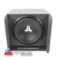 "JL AUDIO CP112-W0v3 Car 12"" SLOT-PORTED BassWedge Sub Woofer Box w/12W0v3 New"