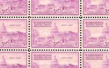 1950 - Capitol Building - #992 Full Mint -Mnh- Sheet of 50 Postage Stamps
