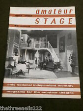 AMATEUR STAGE - 'BED BEFORE YESTERDAY' - APRIL 1980