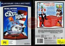 CAT IN THE HAT DR SEUSS Mike Myers Dakota Fanning NEW (Region 4 Australia)