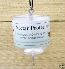 Songbird Essentials Hummingbird Feeder Nectar Protector Ant Moat Clear #SE610