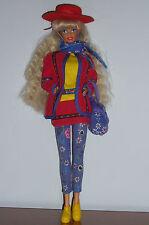 Barbie United Colours of Benetton Mattel Prima Edizione Doll Bambola Vintage '90