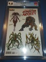 Absolute Carnage Separation Anxiety #1 Level Variant CGC 9.8 NM/M Gorgeous Gem
