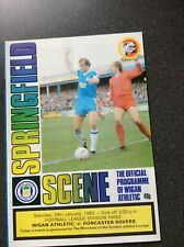 Wigan Athletic v Doncaster Rovers Programme 1982/83