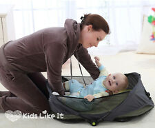 15Jollybaby BABY Infant PORTABLE TRAVEL COT EASY CARRY SLEEP Bed BASSINET NEW