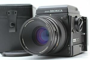 【N MINT】ZENZA BRONICA GS-1 Camera + Waist Level Finder PG 100mm f/3.5 From Japan