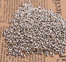 100Pcs Tibetan Silver/Gold/Bronze Spacer Beads Jewelry Findings B3080