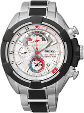 Seiko SPC145 Velatura Mens Watch Alarm Yachting Timer Chronograph RRP $895.00