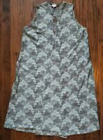 LuLaRoe Joy Vest, Seafoam Green Lace, Lightweight, Never Worn, Size Large