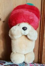 More details for andrew brownsword forever friends teddy bear red winter hat plush soft toy 7
