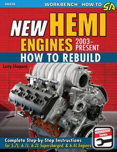 Chrysler Hemi Engines How To Rebuild Manual 5.7L 6.1L 6.2L 6.4L Book Mopar