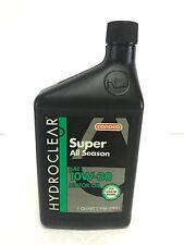 CONOCO super all season motor oil SAE 10W-30 hydroclear 1 quart