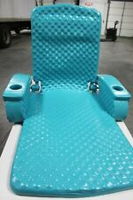 Trc Recreation Super Soft Adjustable Water Recliner Float, (Tropical Teal)