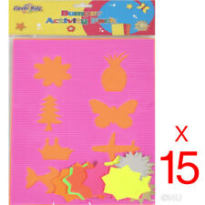 15 X A4 CHILDREN'S BUMPER ACTIVITY PACK SHAPES KIDS CARDS LEARNING CRAFT