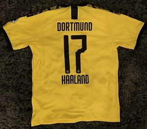 2019-20 Dortmund Home Jersey Haaland #17 XL Mens With Tags