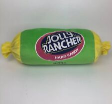 Green Apple Jolly Rancher Hard Candy Plush Novelty Pillow Bolster