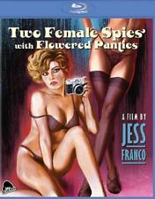 TWO FEMALE SPIES WITH FLOWERED PANTIES NEW BLU-RAY DISC