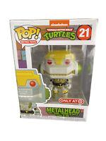 Funko Pop TMNT Ninja Teenage Mutant Turtles Metalhead Target Ex. Collectible!