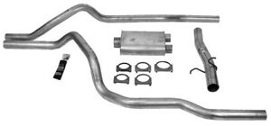 Exhaust System Kit-Super Turbo Dual System Dynomax fits 06-08 Dodge Ram 1500