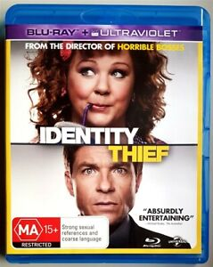 Identity Thief (Melissa McCarthy & Jason Bateman) BLU-RAY *LIKE NEW* (Region B)