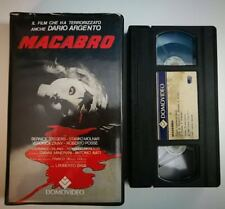 VHS - MACABRO di Lamberto Bava [DOMOVIDEO]