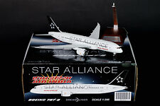"DISCOUNT! Air India Boeing 787-8 ""Star Alliance"" JC Wings 1:200 Diecast XX2953"