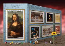 Sierra Leone 2016 MNH Leonardo Da Vinci 1v S/S Mona Lisa Art Stamps