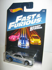 2017 Hot Wheels Fast and The Furious Set of 8 Cars on Long Cards