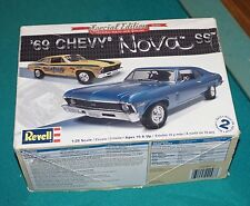1969 Chevy Nova SS Revell 1/25 Built See Pictures.