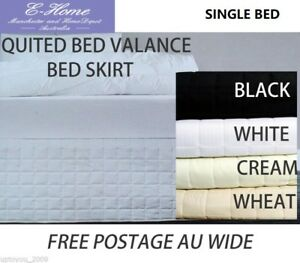 Quilted Valance Bedskirt SB