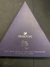 New ListingSwarovski Crystal 25th Anniversary Holiday Ornament By Mariah Carey