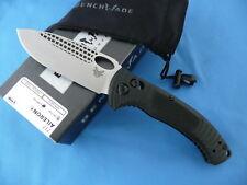 Benchmade 737 Aileron Knife Black G-10 S30V Stainless Steel Plain Edge